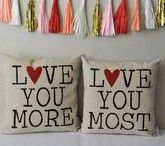 Valentine's Day / At Mohawk Home we L-O-V-E Valentine's Day!  Everything you'll need – gifts and recipes, DIY crafts and unique valentines - to make this year special!  Love is definitely in the air!