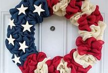 Patriotic Party / Honoring the achievers, dreamers and believers. Fill your home with the hope, laughter and the love of family during the holidays with these ideas for celebrating Flag Day, Memorial Day, Labor Day, and of course, the Fourth of July. Mohawk Home area rugs are proudly made in the USA.