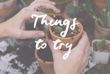 Things to try / Things to try | Drink Inspiration | Natural Home Remedies | Podcast Inspiration | Plant Inspiration