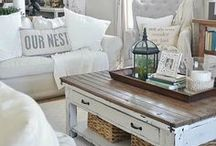 Cottage Home Style / Today's cottage style is all about soft colors, feminine florals, vintage character, and an eclectic mix of flea market and vintage treasures. Explore this board to figure out how to turn your home into cozy cottage style.