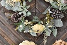 Fall Home Decor / Get ideas for all things fall, including tablescapes, porch decor, vignettes, DIY decor, gorgeous area rugs and more from Mohawk Home!