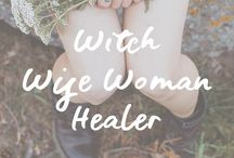 Witch, Wise Woman & Healer (Divine Feminine) / Divine Feminine | Path of the Heart | Awakening | Spirituality | Healer | Wise Woman | Witch