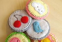 Pretty Felt things / Things I spy other people making with felt. / by Tammy James