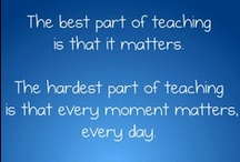 Education-Quotes / Quotes & Signs that I would like in my Classroom / by Amber F-L