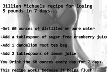 Get healthy! / by Leslie Frame