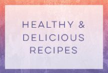 Healthy Vegetarian Recipes / Healthy vegetarian recipes that will never make you feel deprived!  / by Tina Paymaster