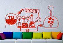 vinilos, ideas e inspiración / ideas sobre decoración con vinilos decorativos