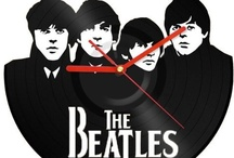 The Beatles / The Beatles were an English rock band formed in Liverpool in 1960, and one of the most commercially successful and critically acclaimed acts in the history of popular music.[1] The group's best-known lineup consisted of John Lennon (rhythm guitar, vocals), Paul McCartney (bass guitar, vocals), George Harrison (lead guitar, vocals) and Ringo Starr (drums, vocals). Rooted in skiffle and 1950s rock and roll, the group later worked in many genres ranging from pop ballads to psychedelic rock. / by Joan Arc
