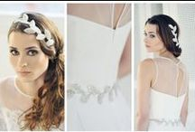 Silver Headpieces and Accessoires / Inspiartion of silver wedding  #Headpieces #Wedding #LaChia #Fascinator #Silver Wedding #Hochzeit #silverheadpieces #tocados