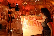 Paint Your Wedding! / Hire an artist to paint your wedding into a masterpiece!