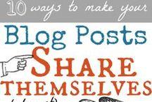 Blogging tips & social media
