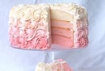 Rainbow Cake / Rainbow cakes ideas I like, inspiration for my girls Birthday cake. / by Tammy James