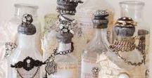 Glass Bottles / The Art Of Altering & Decorating Glass Bottles.