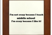 Education-Middle Grades / by Amber F-L