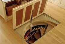 Secret Places / Doors, cabinets, hiding places. / by David Sussman