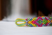 Friendship bracelets / I told my Girl we could make friendship bracelets together these holidays / by Tammy James