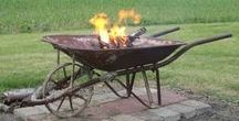 Garden Fire Pits / The Art Of Using Fire In The Garden