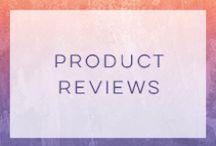 Product reviews / by Tina Paymaster