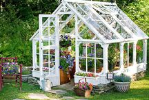 Garden Greenhouses / The Art Of Making And Using Greenhouses