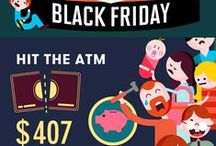 Black Friday Infographic / Black Friday isn't just another shopping day; it's a battleground. Learn how to gear up for Black Friday with this infographic for Turner.