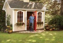 Garden Sheds / The Art And Use Of Sheds In The Garden