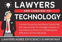 Law Firms Workflow and Productivity / Efficiency is absolutely crucial for success in law firms and legal departments. LexisNexis conducted a survey of the Australian legal industry to find out what lawyers are doing to increase efficiency. Our modern, clean design and simple data visualizations convey that information quickly and beautifully.