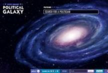 Political Galaxy / Project Vote Smart is a non-profit, non-partisan organization that provides information to voters about U.S. political candidates. Their library of data is enormous, and to the casual reader, can be overwhelming. They asked us to create a visual, interactive interface for users to access the full breadth and depth of their research.