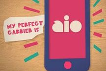 Aio Wireless Social Content / Mobile service provider Aio Wireless wanted to position themselves as the fun, clever, honest, and simple provider while delivering a social media smackdown to their major competitors. What better way to do that than with some witty, shareable graphics and endearing stop-motion animations?