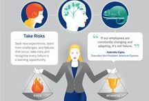 Women at the Top / Move women forward, move business forward. That's the message of American Express, who teamed up with JESS3 to produce a series of infographics proving that a gender-balanced workplace isn't just an equitable idea, it's a profitable one.
