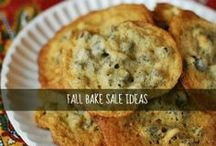 Project #4: Fall Bake Sales! / by Kelsey Banfield | The Naptime Chef