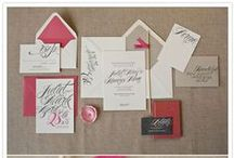 Wedding Stationery / by Smitten Events