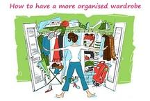 #31DOC Wardrobe Organisation / by Shawnt'e Smith