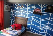House {Boys Bedroom}