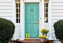 House {Front Door & Porch}