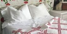 Vintage Home / A beautiful pictorial of vintage decor, using antique quilts and linens, french laces, and all things vintage. We love cottage gardens, white paint, chippy architectural pieces. Join us if you love all things vintage!