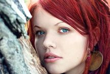 Beauty : Red Delicious / Beautiful red hair, red heads, red red red / by Ro Xana Star
