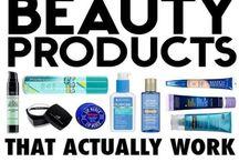 beauty products i love..