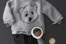 Effet Boule de Neige / On adore l'hiver et les petits looks bébé et enfant qui vont avec.