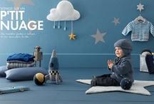 Voyage sur un p'tit nuage / Inspiration enfant garçon