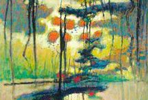 Art : Abstracted / Abstract and impressionist art / by Ro Xana Star