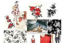 GARDEN STYLE / Beautiful flowers and floral prints