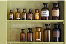 Apothecary : Remedies & Recipes / Herbal, plant and natural remedies for ailments / by Ro Xana Star
