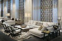Hotels: public area / Hotel inspirations: hall, lobbies, gardens, terraces, etc.