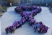 25 N - Día contra la violencia de género - Igualdad de género / Un día para dejar claro que en nuestro colegio rechazamos la violencia de género.
