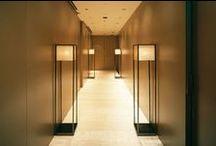 Hotels: hallways & elevators / Inspirations for hotel hallways