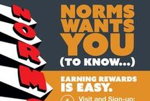 EClub / Receive special offers & updates from NORMS by signing up for our Eclub!