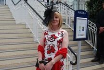 DRESS UP FOR SUMMER / JVG representatives attending Royal Ascot 2015! Look out for the lovely ladies we #Spotted wearing something from our range of Elegant British Brands