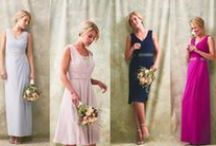 WEDDING INSPIRATION / Inspiration for brides and bridesmaids: stylish, pretty, elegant, soft colour palette.