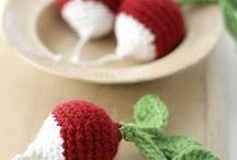 Crochet food / Découvrez des recettes gourmandes à base de tricot et de fils.