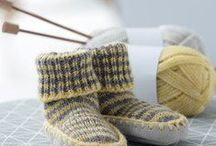 Des petits chaussons pour petits petons. / Modèles et inspiration de petits chaussons pour les bébés et les enfants.